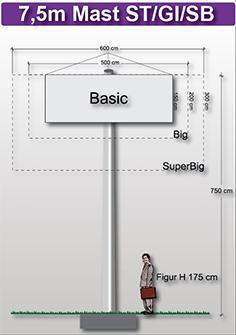 7,5m-mast-preise-fuer-werbeturm24-werbemast