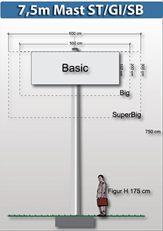 7,5m-mast-rechteckig-preise-fuer-werbeturm24-werbemast